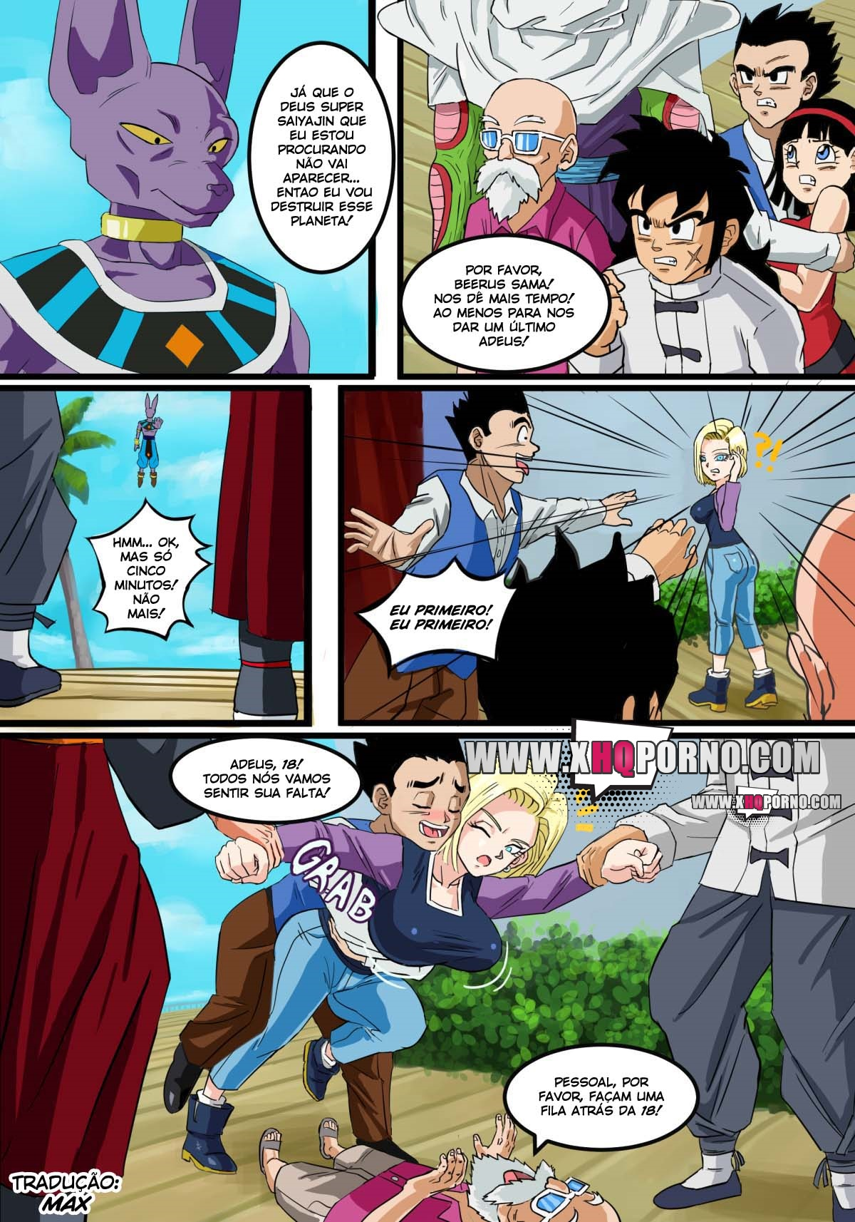 Beerus Saga – Dragon Ball Super