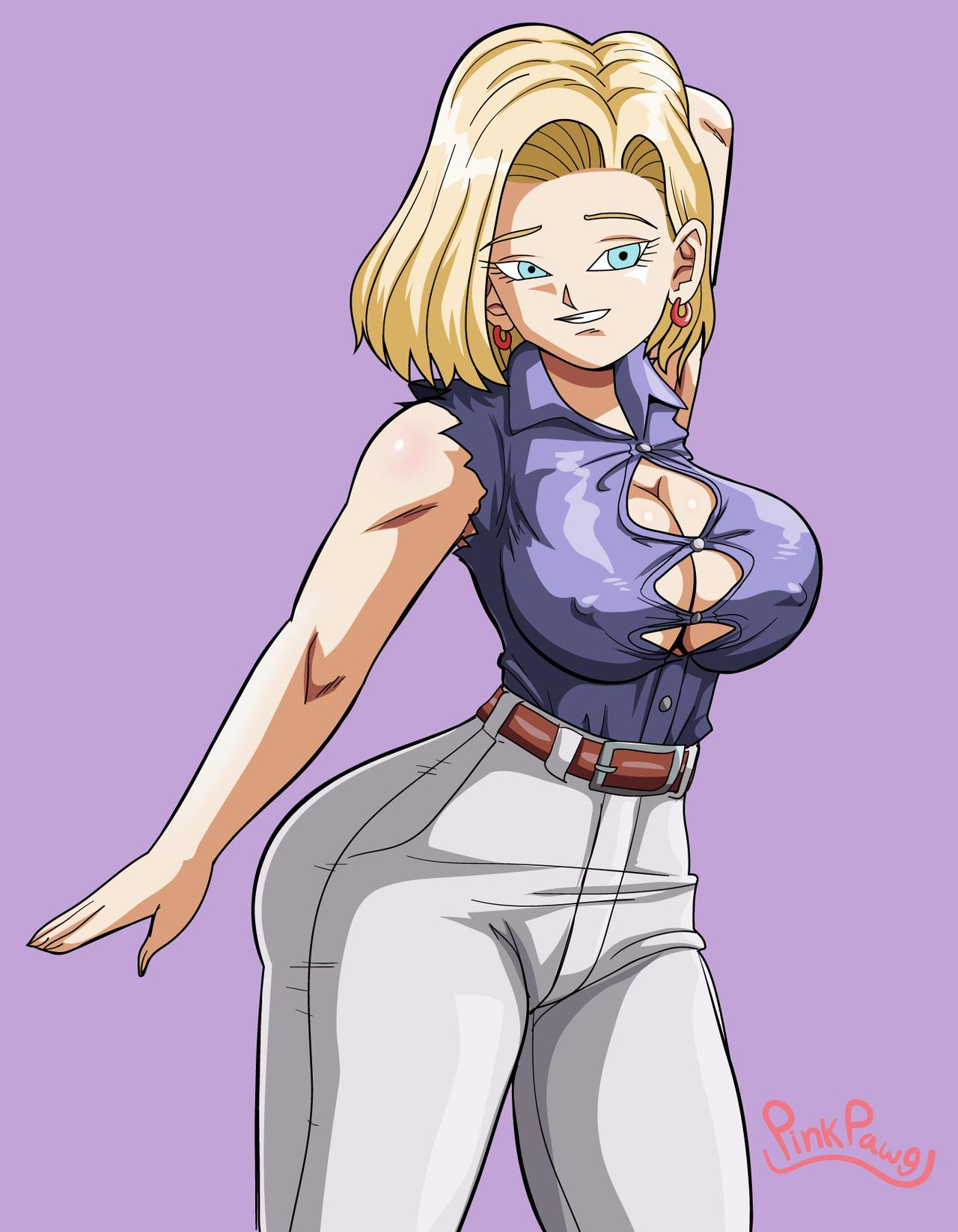 Android 18 Is Alone