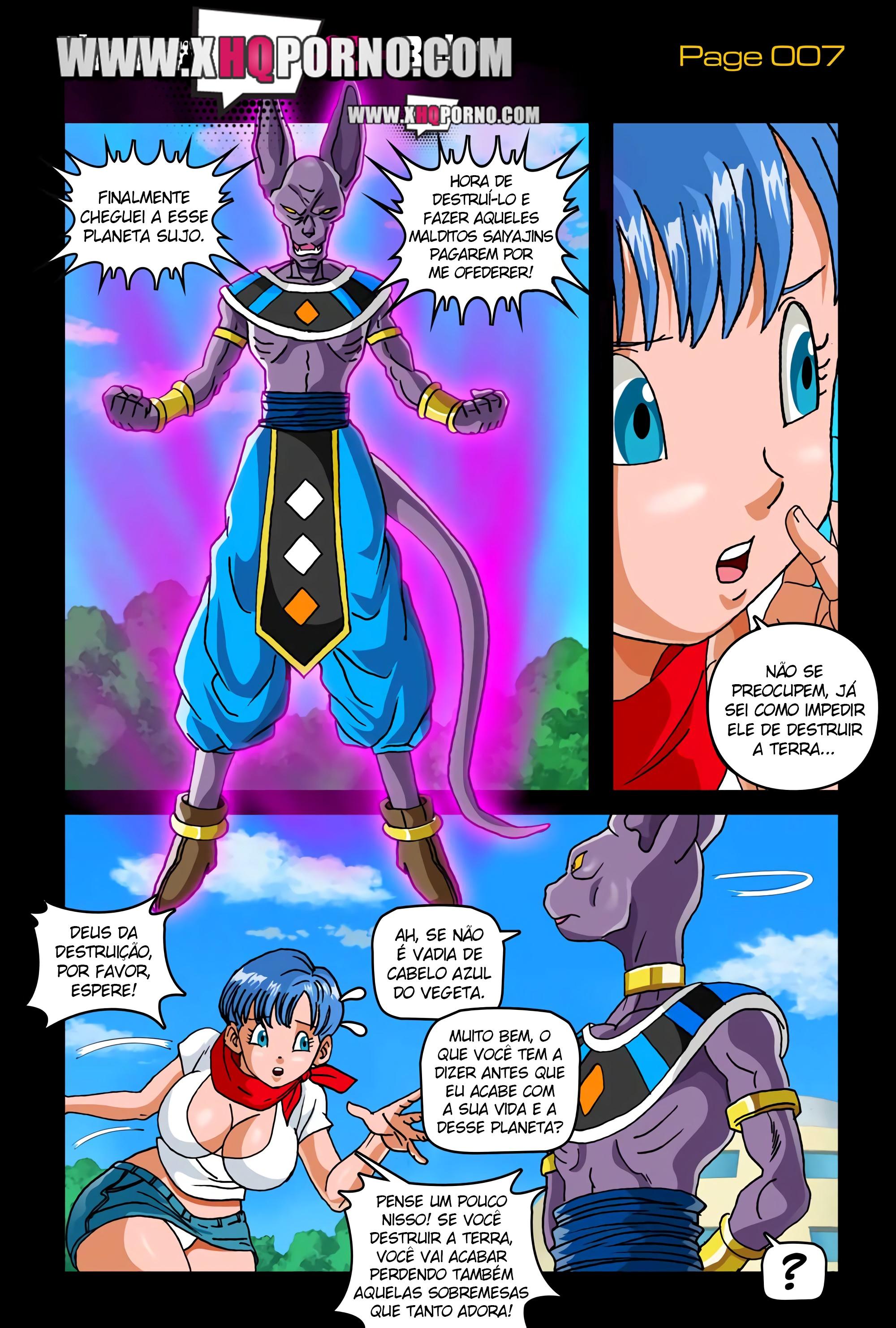 The Fury of a God – Dragon Ball Super