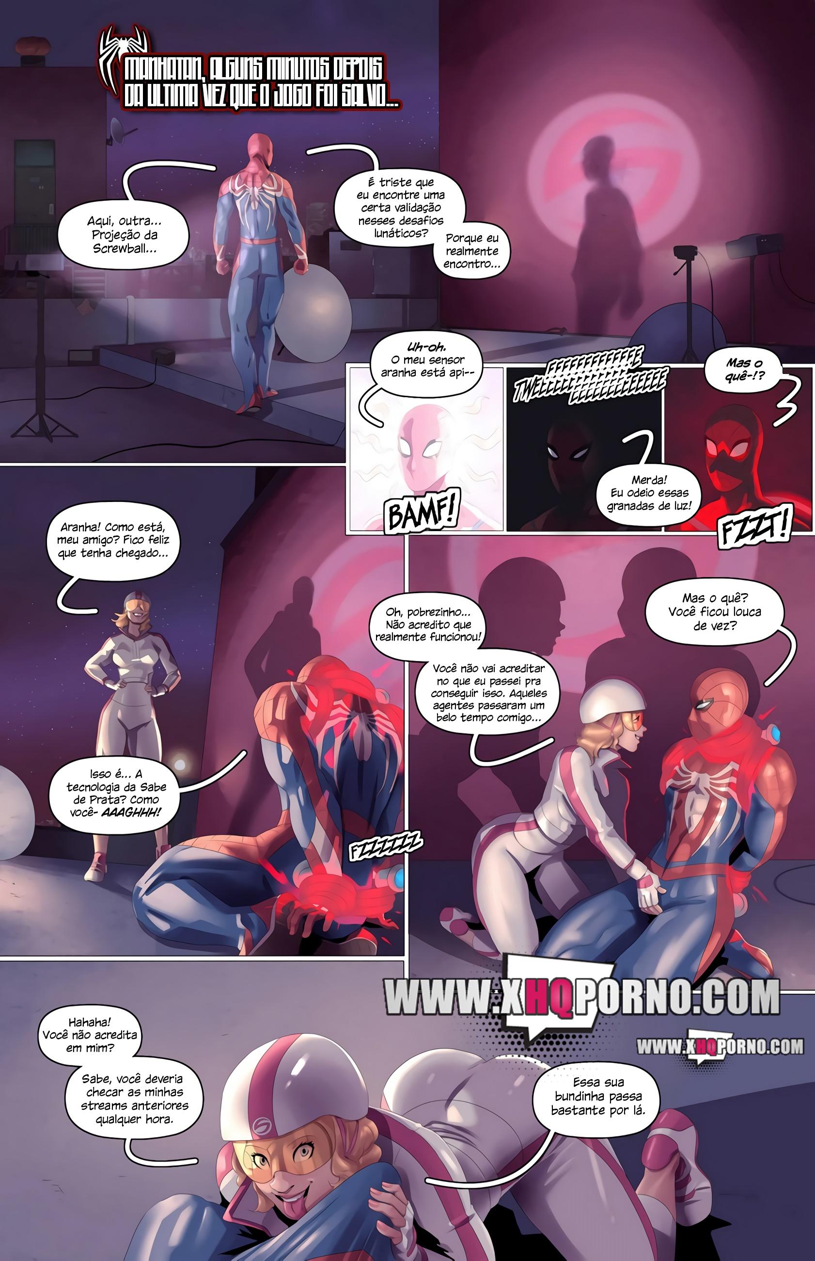 Spider-Man vs Screwball