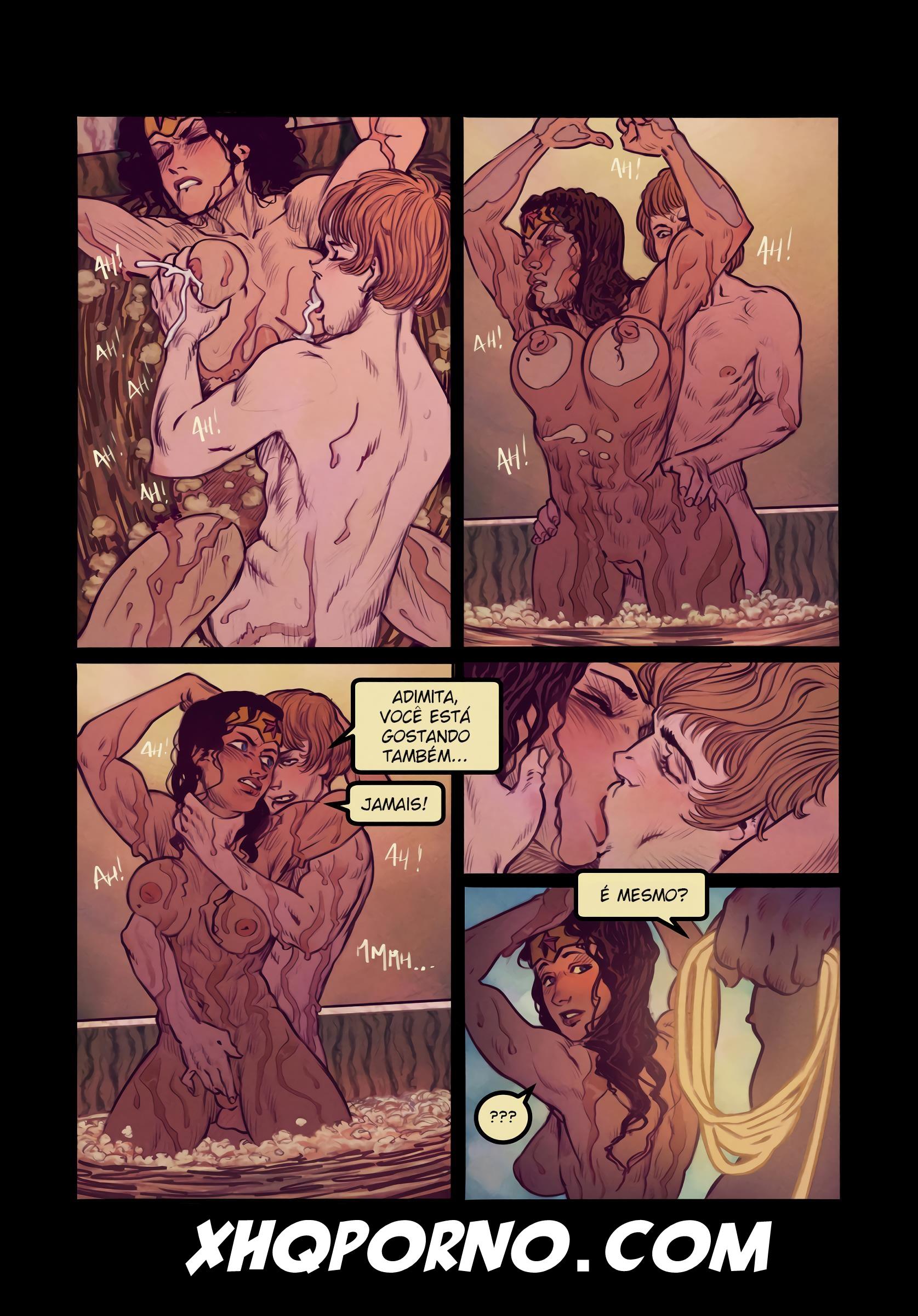 Wonder Woman's Bathroom Break