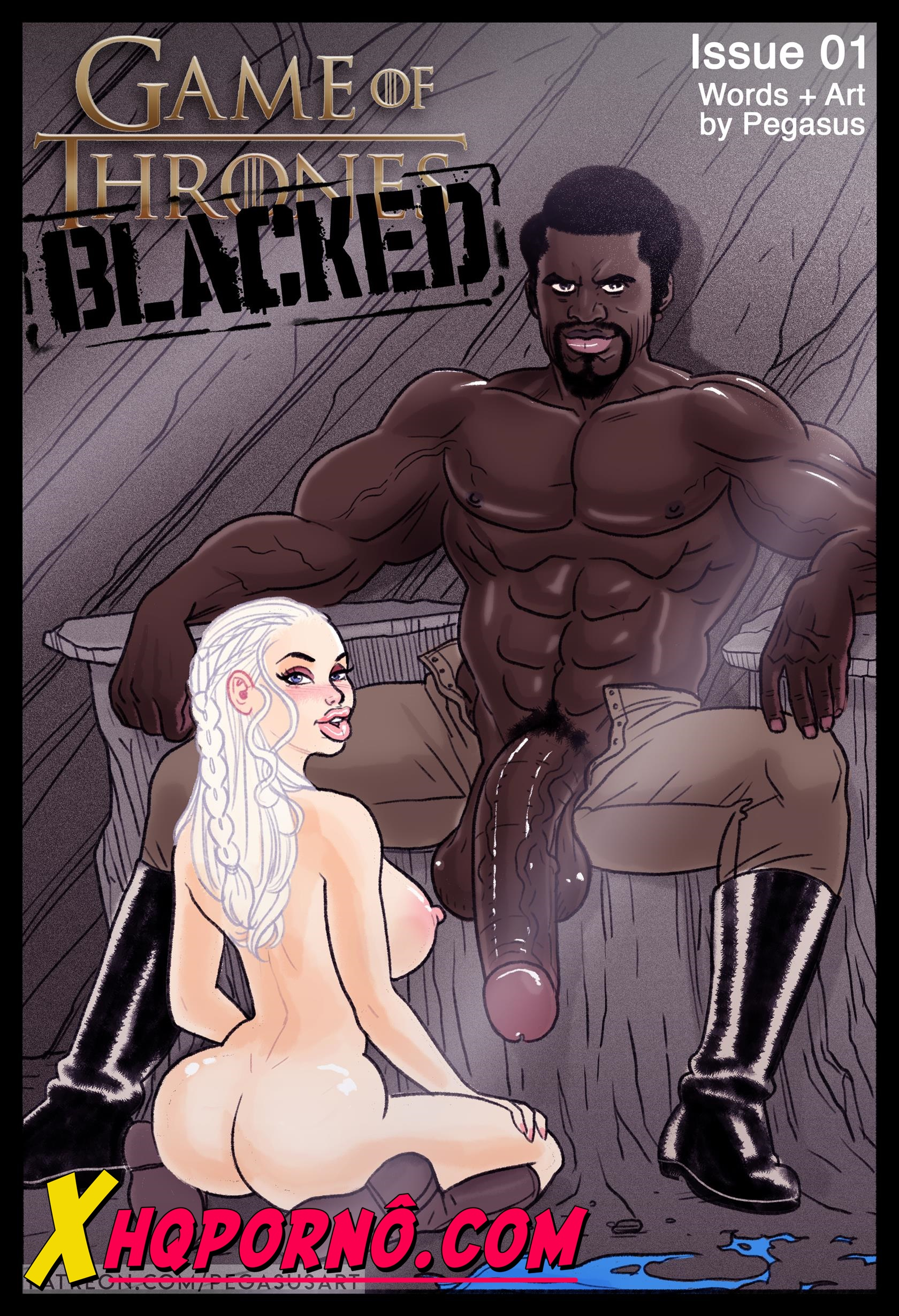 Game of Thrones – Blacked