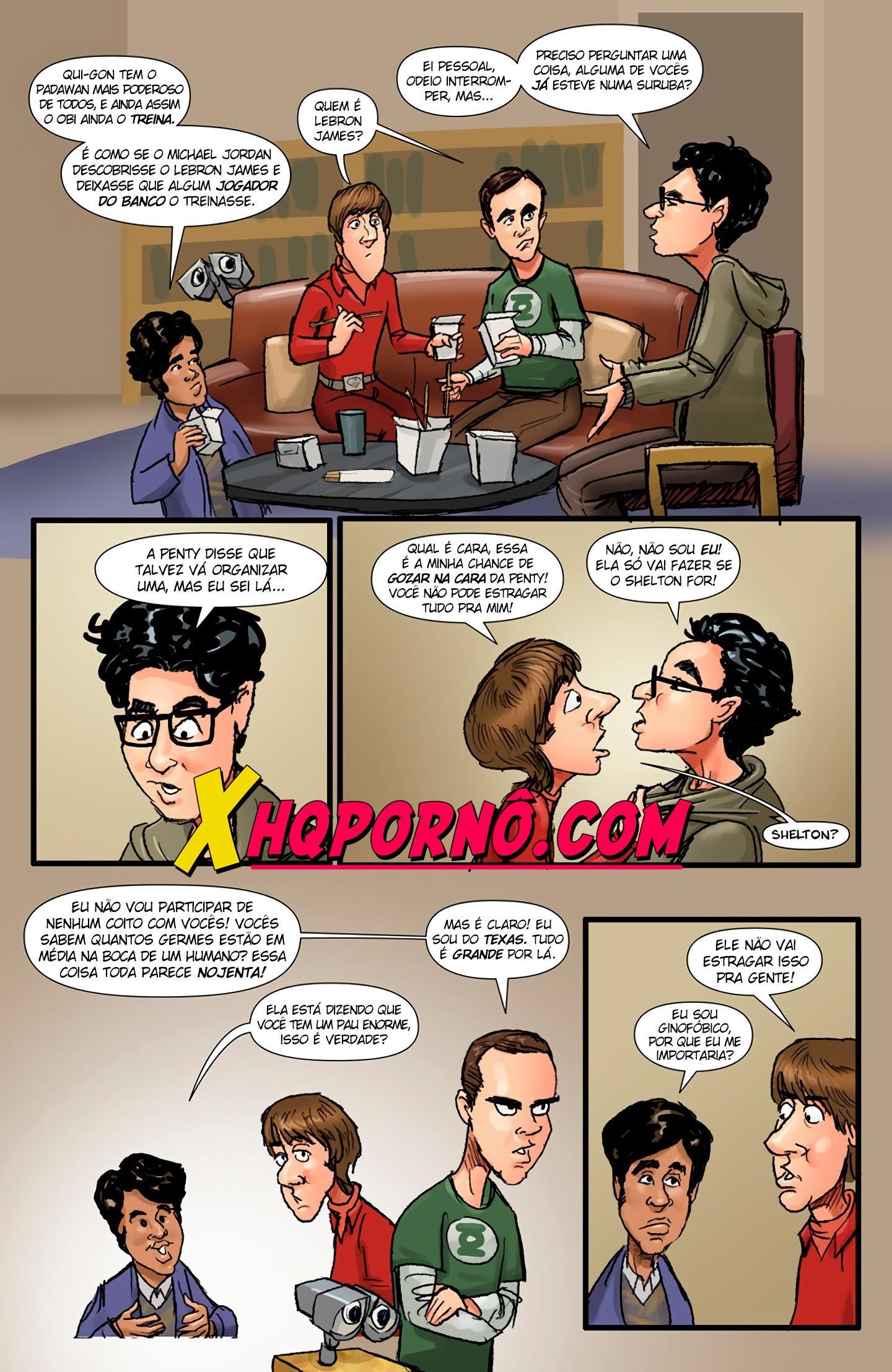 The big gang bang Theory