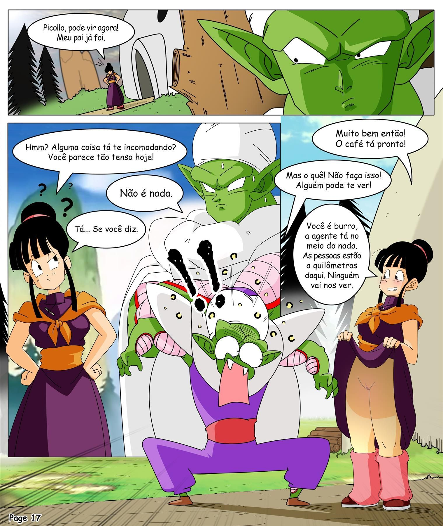 Dragon Ball Yamete Chichi's Saga Novas
