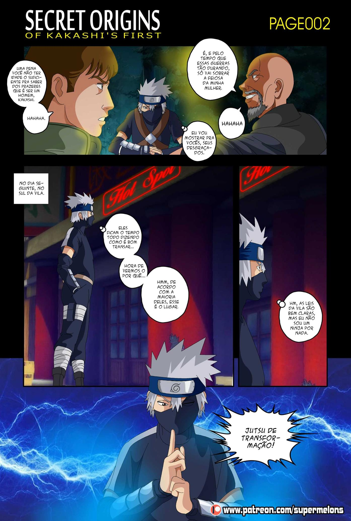 Secret Origins of Kakashi's First