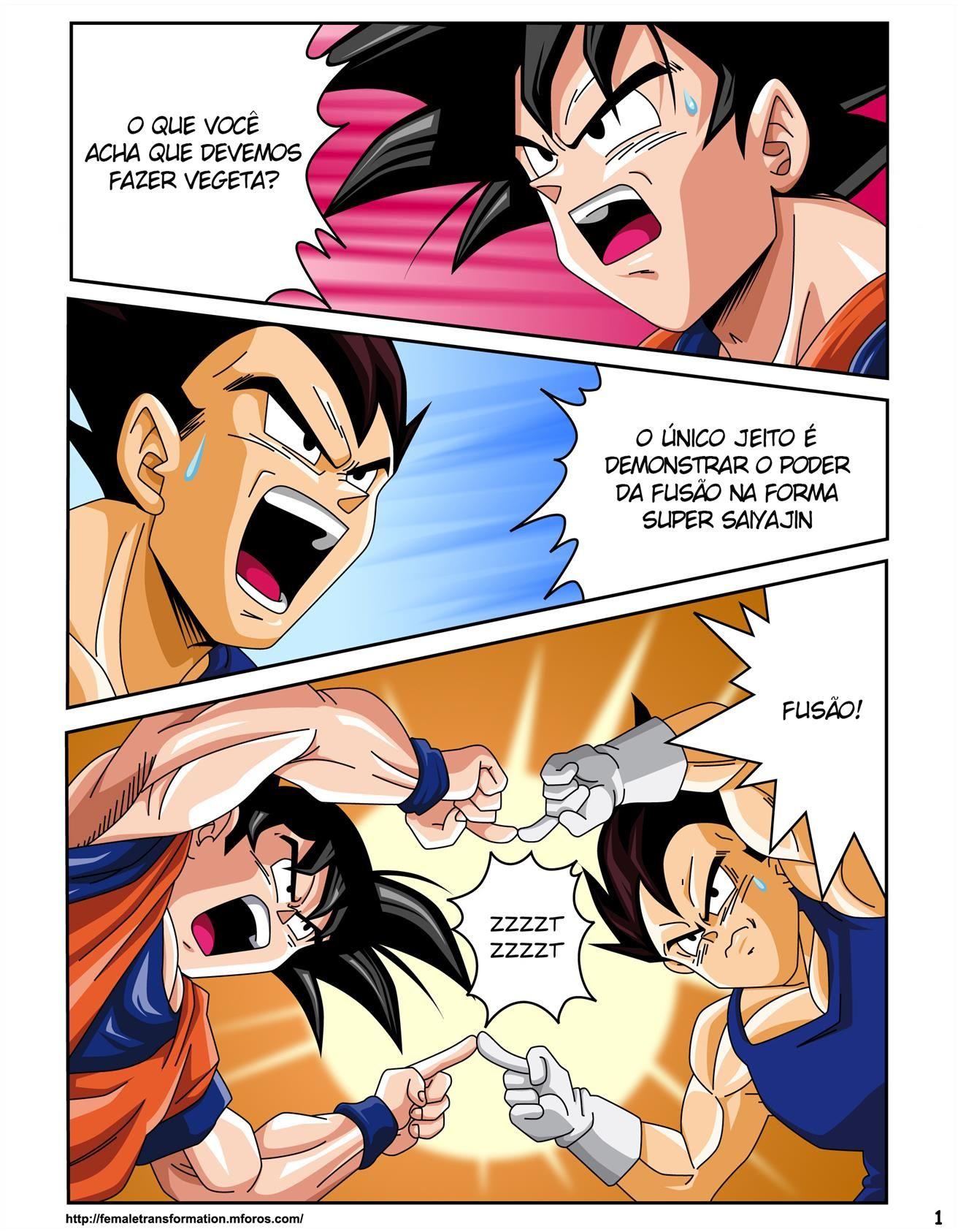 Dragon Ball H- Sex Sayan!
