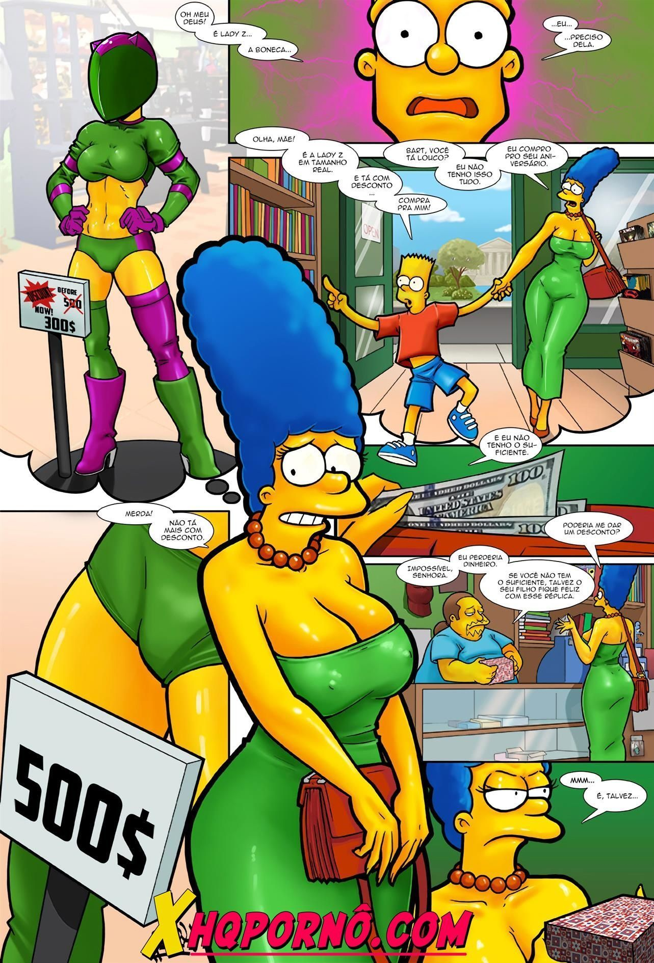 Marge's Gift For Bart