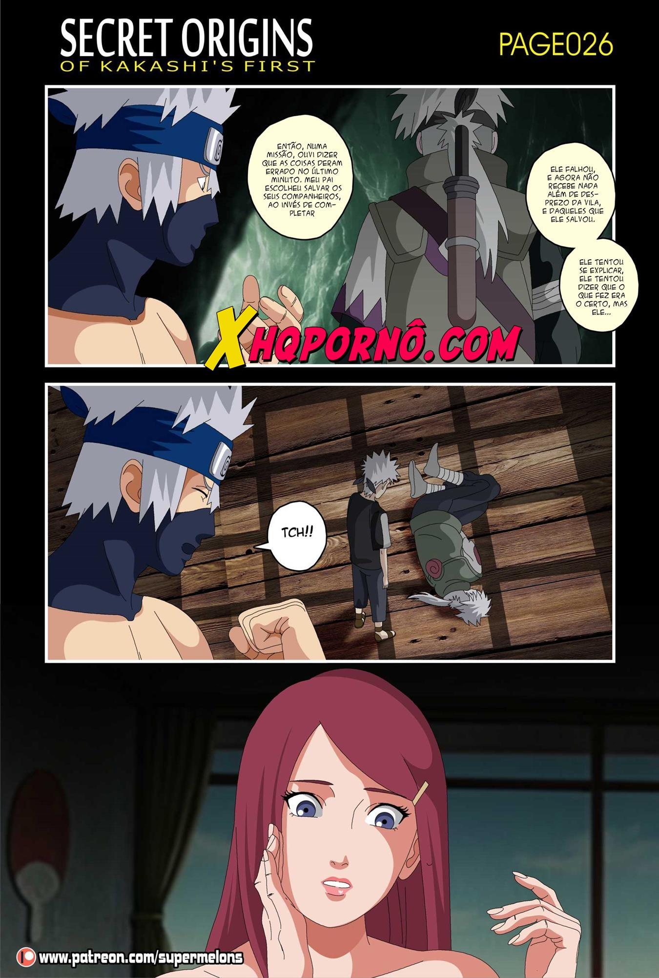 Secret Origins of Kakashi's First