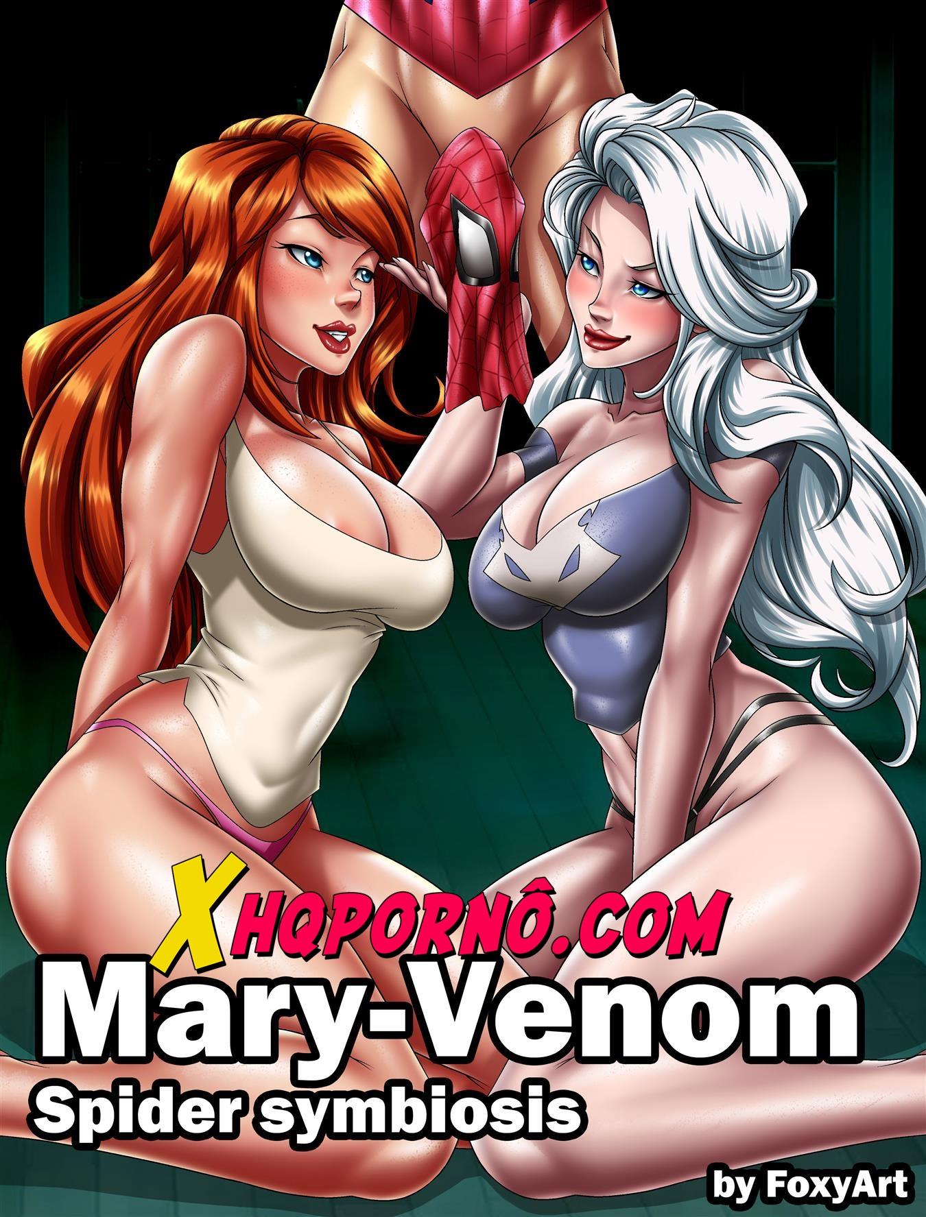 Mary-Venom fodendo Spider