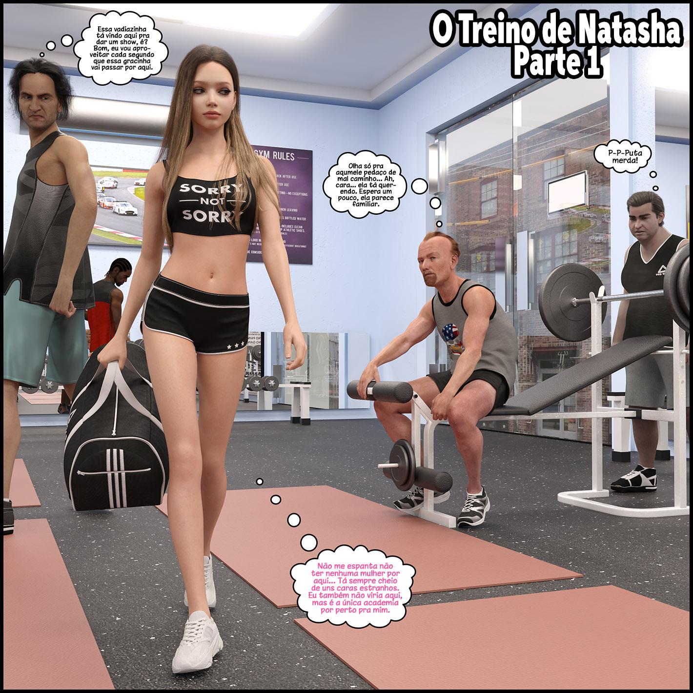 O treino de Natasha 1
